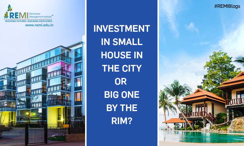 Investment in a Small home in main Mumbai